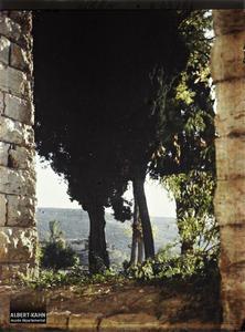 Syrie, Bet-Edin, Paysage pris de la terrasse du Palais. Paysage pris depuis la terrasse du palais