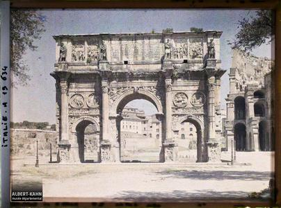 Italie, Rome, Arc de Constantin.Arc de Constantin