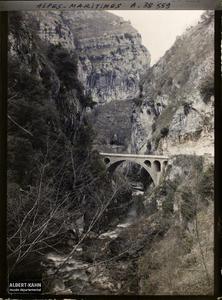 France , Le Loup , Gorges du Loup Le Pont du Loup