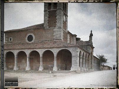 Espagne, de Léon à Astorga, L'Eglise du Sanctuaire de la Virgen del Camino