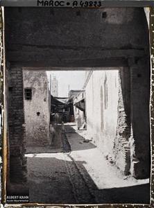 Maroc, Taza, Un Souk. Un souk