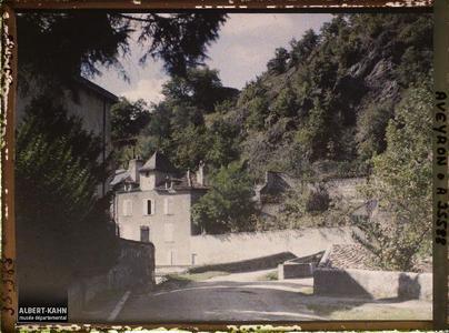 France, Villefranche de Rouergue (Aveyron), Entrée de Villefranche par la route de Figeac