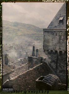 France, Villefranche de Rouergue (Aveyron), Vue sur la Ville