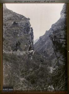 France , Le Loup , Gorges du Loup Vue des Gorges , vue prise entre le Loup - Station et les Cascades