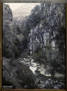 France , Le Loup , Gorges du Loup Un aspect des Gorges