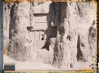 Perse, Nach-i-Roustem, Tombeaux des Rois - Tombeau de Darius II.Tombeau de Xerxès Ier