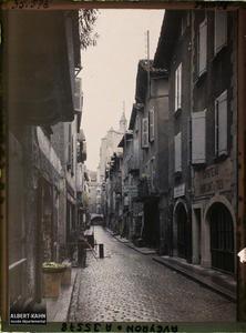 France, Villefranche de Rouergue (Aveyron), Rue du Général Prestat