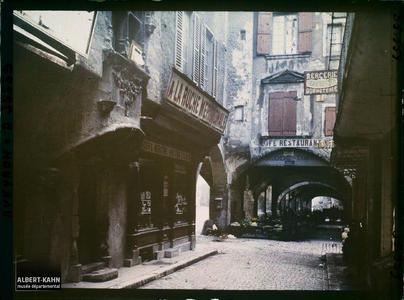 France, Villefranche de Rouergue (Aveyron), Arcades du Consulat et Vieille Maison