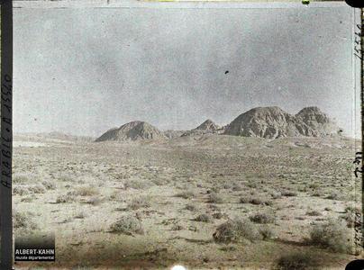 Arabie, Haute vallée d'El Iitem. Rochers gréseux. Haute vallée d'el-Ithm