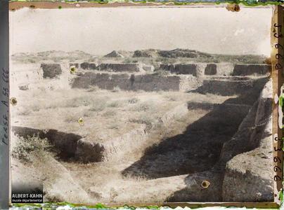 Perse, Suse, Emplacement d'un cimetière.Emplacement d'un cimetière sur le tell de la Ville des Artisans ?