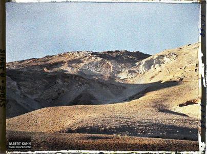 Syrie, Damas, Le Djebel Kassioum au Coucher du Soleil. Le Djebel Qasyun au coucher du soleil