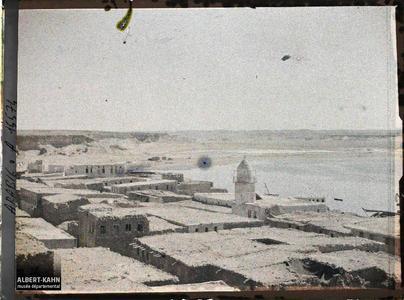 Arabie, El-Ouedj, El-Ouedj. Panorama vers la mer Rouge