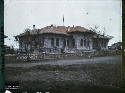Turquie, Angora, Bâtiment de la Grande Assemblée autre aspect.La Grande Assemblée Nationale
