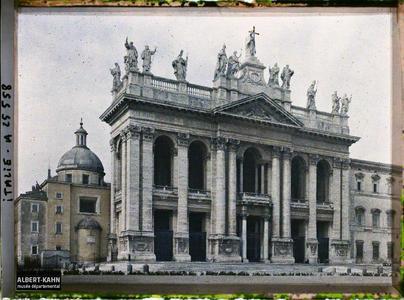 Italie, Rome, St Jean de Latran.Basilique Saint-Jean-de-Latran