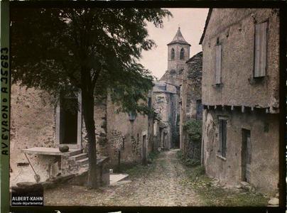 France, Najac, Eglise de Najac