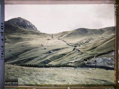 Tyrol, Wolkenstein, Col de la Sella.Col de la Sella