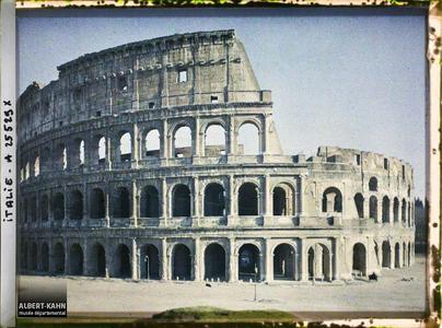 Italie, Rome, Le Colisée.Colisée