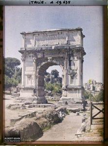 Italie, Rome, Arc de Tito.Arc de Titus