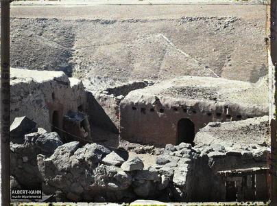 Syrie, Tell-Es-Shehab, Type de Maison. Dans le village