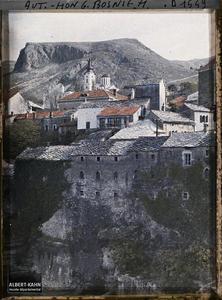 Bosnie, Mostar, Quartier de l'Eglise Orthodoxe.Quartier de l'Eglise Orthodoxe
