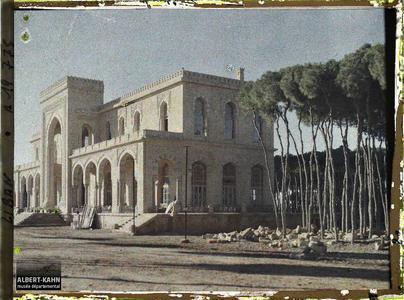 Syrie, Beyrouth, Le Club de Beyrouth construit en 1916. Le Cercle du Parc, ex-Club Azmi, située rue des Pins