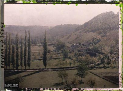 France, St Julien d'Empeyre (Aveyron), Pente Nord du mont Cavalier