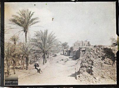 Arabie, Akaba, Akaba. Une rue