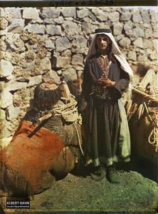 Syrie, Tell-Es-Shehab, Type du Hauran. Un homme, très probablement druze