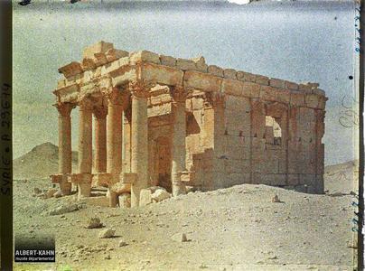 Syrie, Palmyre, le Petit Temple. Le petit temple de Baalshamin