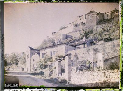 France, Cordes (Tarn), Côté est et les ramparts