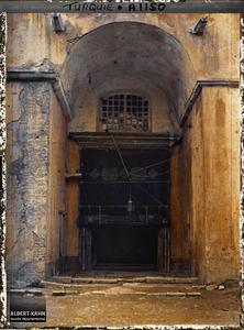 Turquie, Stamboul, Entrée de Ste Sophie. Porte ouest (de l'exonarthex) de la Aya Sophia Camii («mosquée Sainte-Sophie» )