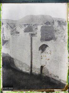 Irak, Babylone, Arche de la Porte du Palais de Nabuchodonosor.Une arche (du palais de Nabuchodonosor II ? (VIe siècle avant J.-C.)