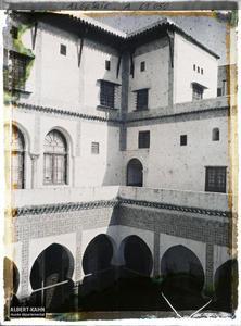 Algérie, Alger, Bibliothèque nationale - Etages supérieurs.Les étages supérieurs de la Bibliothèque nationale (Dar Mustapha Pacha)