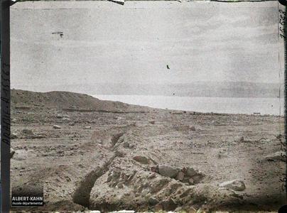 Arabie, Environs d'Akaba, Anciennes tranchées turques. Anciennes tranchées turques