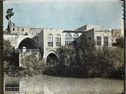 Syrie, Hama, Maison de Nouri-Pacha. Résidence d'un notable au bord de l'Oronte
