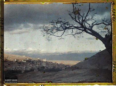 Syrie, Zahlé, village de Zahlé et la plaine de la Béka. La ville et la plaine de Bekaa