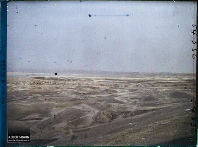 Irak, Assur, Tempête de sable. Tempête de sable