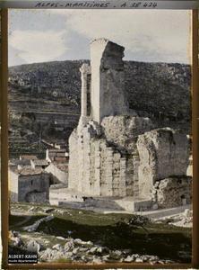 France, La Turbie, Le Monument d'Auguste.