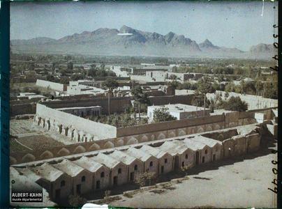 Perse, Ispahan, Panorama vers Djoulfa.Panorama vers Djolfa, le quartier arménien