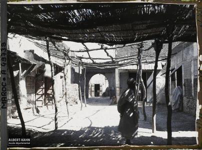 Maroc, Taza, Un coin des Souks. Une partie des souks