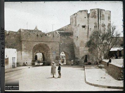 Maroc, Safi, La Porte du Vallon. Bâb Chaaba (« porte du Vallon »)
