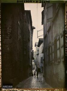 France, Villefranche de Rouergue (Aveyron), Rue du Sénéchal
