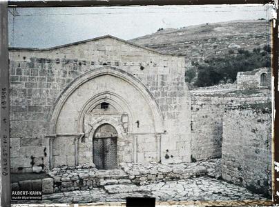 Syrie, Jérusalem, Tombeau de la Vierge.Tombeau de la Vierge Marie