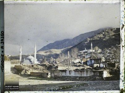 Turquie, Magnesie, Ruines vers la Mouradiah- Djami