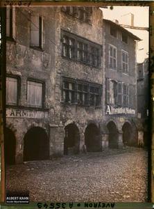 France, Villefranche de Rouergue (Aveyron), Maison Renaissance Place Notre Dame