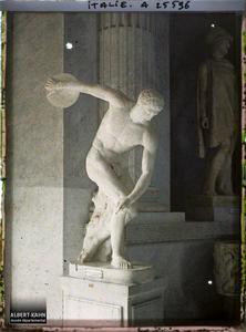 Italie, Rome, Le Vatican - Le Discobole.Vatican, musée Pio-Clementino, Le discobole