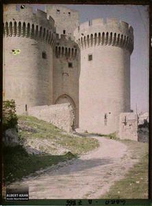 France, Villeneuve, Entrée du fort..