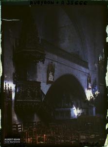 France, Najac, La Chaire de l'Eglise
