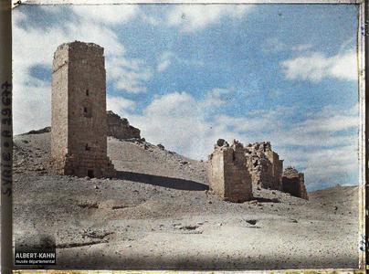 Syrie, Palmyre, Tours Sépulcrales, Tombeau de Zénobie (?). Tours funéraires des nécropoles de Palmyre