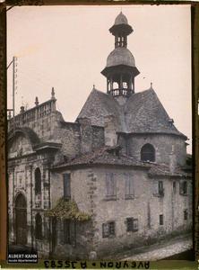 France, Villefranche de Rouergue (Aveyron), Vieille Eglise St Jacques